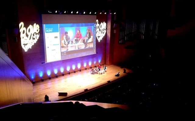Gaztelueta: Bachillerato participa en el IX Congreso Lo_Que_De_Verdad_Importa (Palacio Euskalduna - Bilbao)