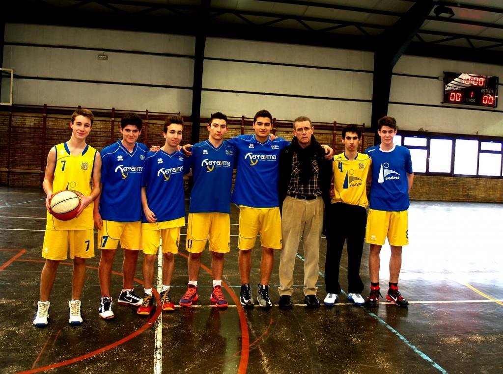 Gaztelueta - Junior Basket 2014/2015