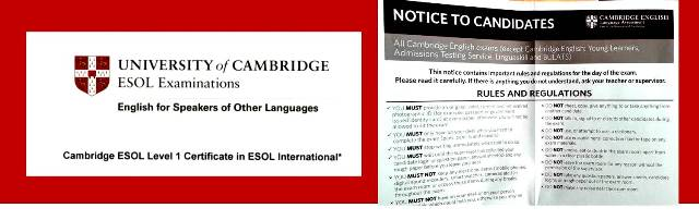 Gaztelueta: University of Cambridge ESOL examinations