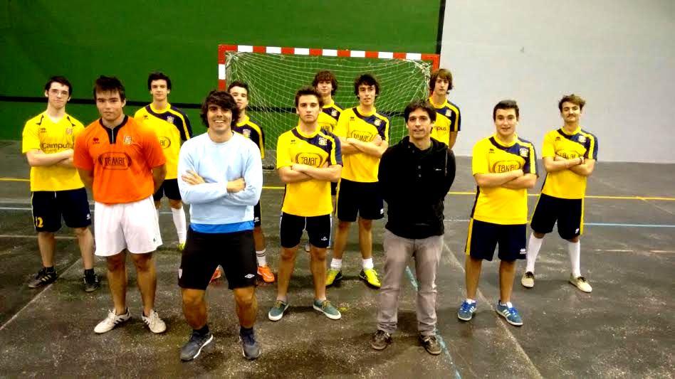 Gaztelueta Futbol Sala Juvenil 2014-2015