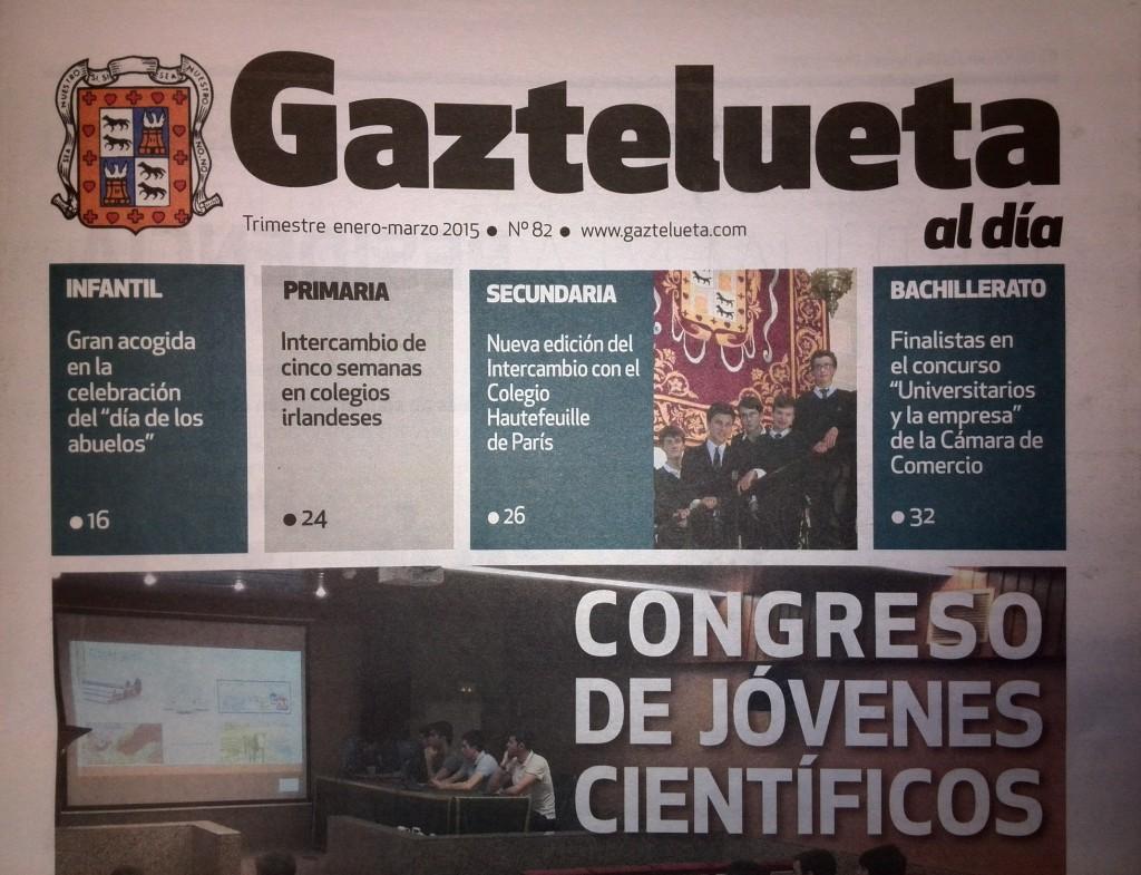 """""""Gaztelueta al día"""" (n. 82, Enero-Marzo 2015)"""
