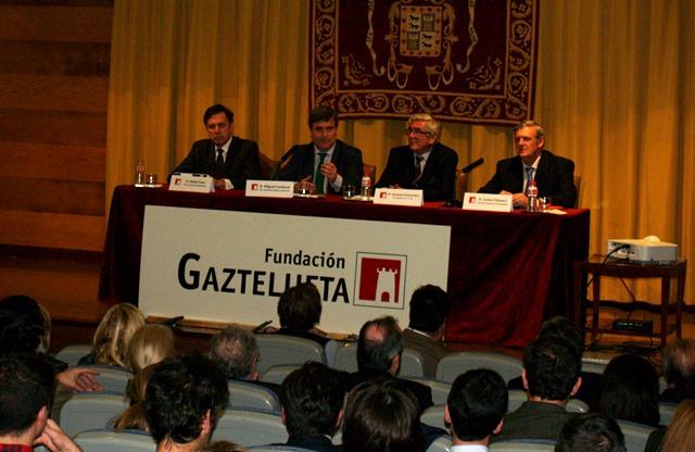 Gaztelueta - Conferencia presidente Consejo Superior de Deporte