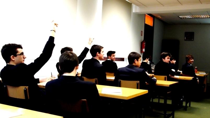 Sesión en la Biblioteca  - Gaztelueta