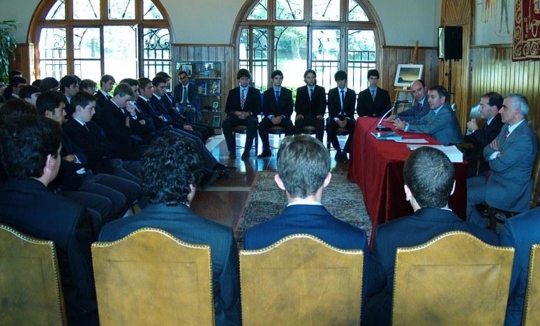 Presidente de la Cámara de Comercio - Gaztelueta