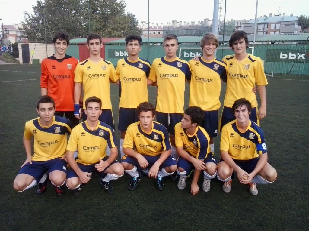 Gaztelueta Fútbol Juvenil (2014-2015)