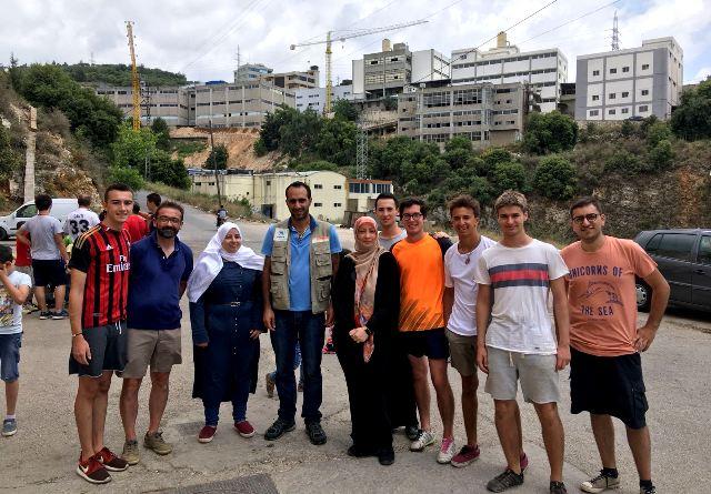 Gaztelueta: alumnos de Bachillerato ayudan en campo refugiados de Líbano
