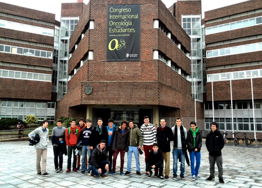 Gaztelueta - visita de estudios a la Universidad de Navarra