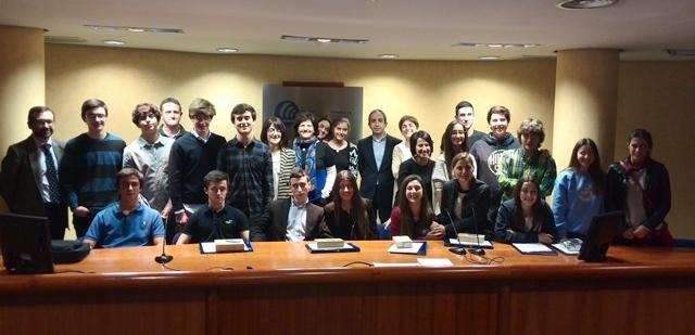 """Gaztelueta finalista en el Concurso """"Preuniversitarios y Empresa 2015"""" organizado por la Cámara de Comercio de Bilbao"""