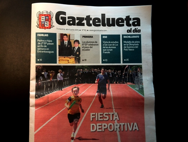 """'Gaztelueta al día"""" (n. 83) Abril - Junio 2015"""