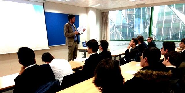 Gaztelueta: sesión sobre Marketing y hábitos de consumo en la Cámara de Comercio de Bilbao