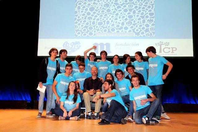 Gaztelueta - voluntarios con Pedro García Aguado y Miriam Fernández - Congreso Kliquers 2016