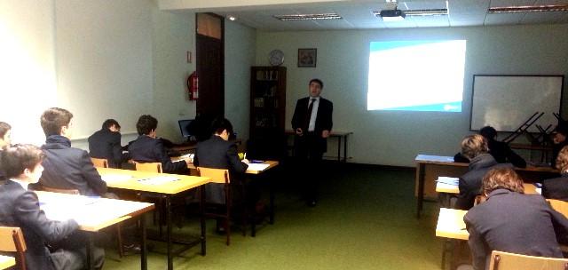 Gaztelueta - Sesión de la Cámara de Comercio sobre la Bolsa