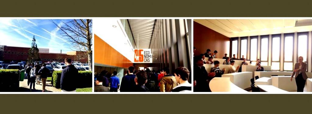 Gaztelueta: visita de estudios a la Universidad de Navarra