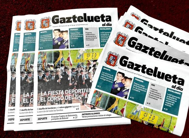 'Gaztelueta al día' N. 89 (abril-junio 2017)