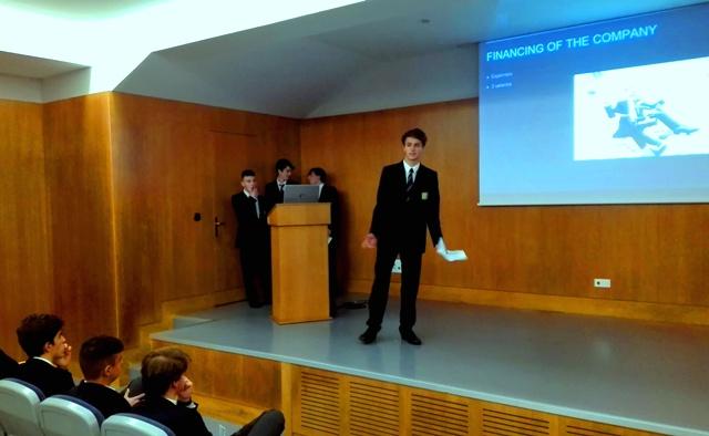 Gaztelueta Bachillerato Ciencias Sociales: exposición oral en Inglés