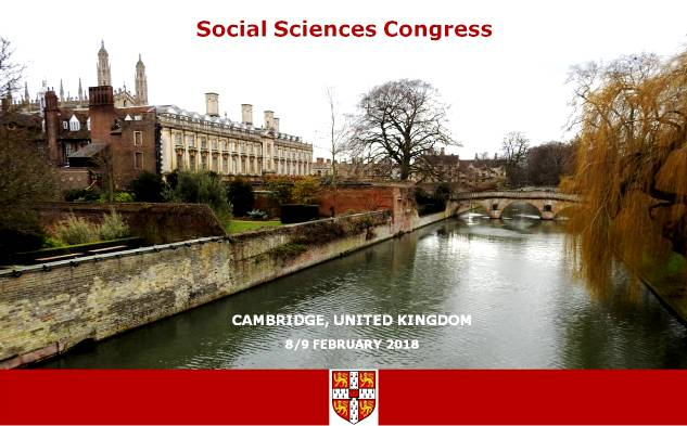 Gaztelueta: Social Sciences Congress 2018 (Cambridge, United Kingdom)